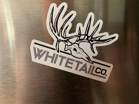 "3"" Whitetail Company Magnet"