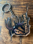 Whitetail Company Acrylic Brown Key Chain