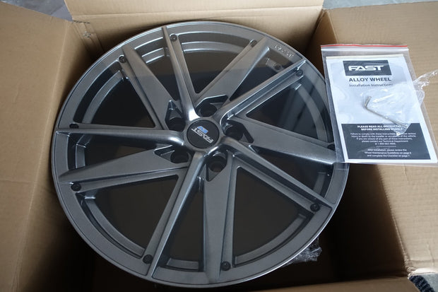 "19"" Fast Wheels EV01 Wheels 5x114.3 (Set of 4) - Aftermarket EV"