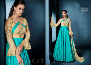Designer Indian Dress- 22 (Lehnga Long) - ForHar Closet