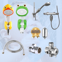 Just For Me Shower Filter Kit for Children and Babies - Choose from 4 Animal Shower heads