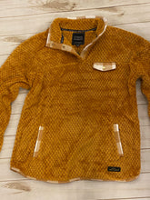 Load image into Gallery viewer, Simply Southern Mustard Plaid pullover