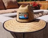 "Wide Brimmed ""Colorado Sky"" Sun Protection Hat - One Size fits Most - RMOHATS"