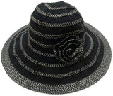 Ladies Playa Hat with Decorative Flower - RMOHATS