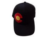 Colorado Flag - BLACK STATE C - RMOHATS