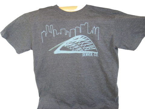 Denver Skyline & Speer Blvd. T-Shirt - RMOHATS
