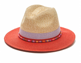 The Canon City - Beaded with Two Toned Brim and Crown - RMOHATS