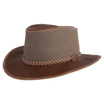 The  Mountain Breeze -  Antique Brown - RMOHATS