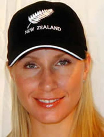 New Zealand Silver Fern Baseball Cap - Adjustable - RMOHATS