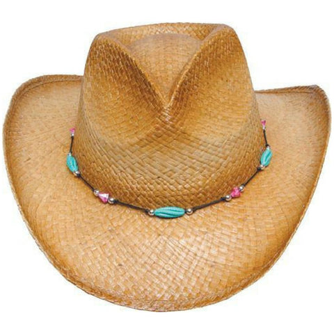 The Alma Beaded Western - 50+ UPF Sun Protection - RMOHATS