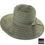 The  Lexington - Ladies Foldable Wide Brim Sun Hat - RMOHATS