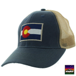 Colorado Flag Patch Trucker Hat - RMOHATS