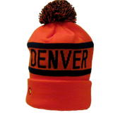 Denver Broncos Style United in ORANGE Winter beanies - RMOHATS