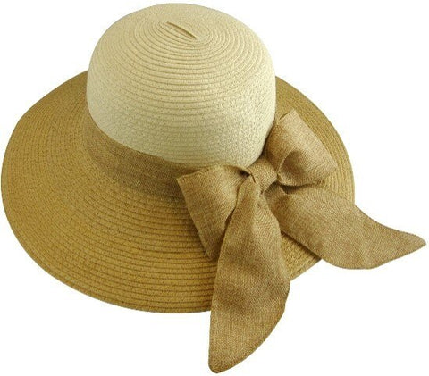 The Tupelo Fashion Sun Hat  with Ribbon- Adjustable Size - RMOHATS
