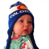 Kids Colorado Flag Beanie Toddlers to Jrs. - RMOHATS