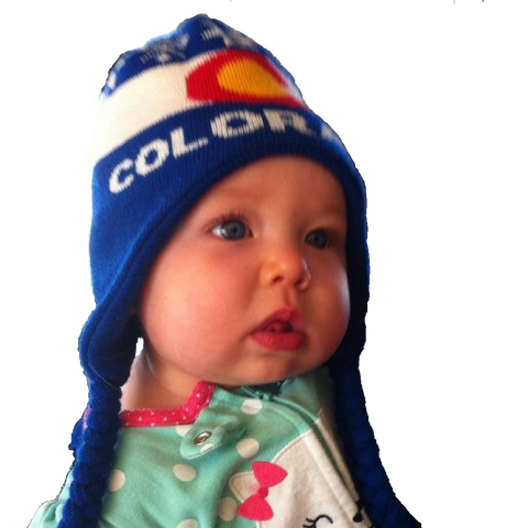 Kids Colorado Flag Beanie - Toddlers to Jrs. - RMOHATS