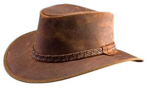 The Mountain Crusher -  Antique Brown - RMOHATS