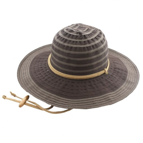 San Diego Sun Hat - Packable & Lightweight -  Brown - RMOHATS