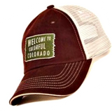 Welcome to Colorful Colorado - Trucker Hat - RMOHATS