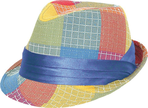 Multi Colored Packable Fedora - Lighweight - RMOHATS