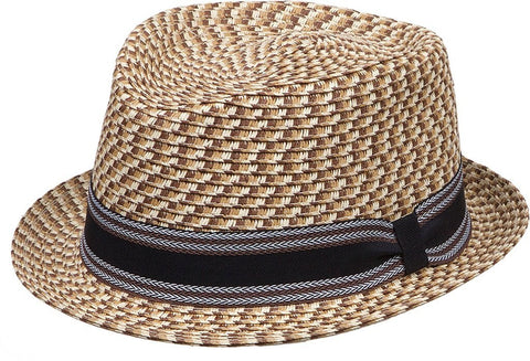 Raffia Fedora - Wide Brim - Packable - RMOHATS
