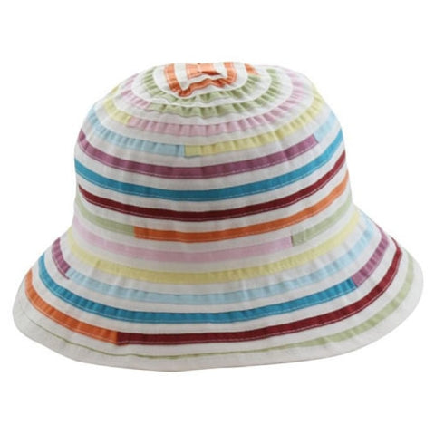 Ladies Small Brim Multi-Colored Hat - RMOHATS