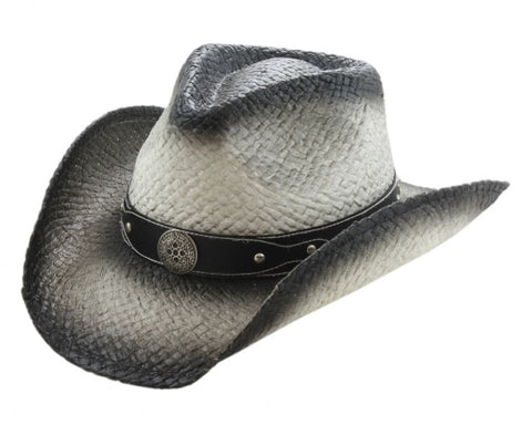 Rode Cowboy Hat - Leather with Buckle - One Size - RMOHATS