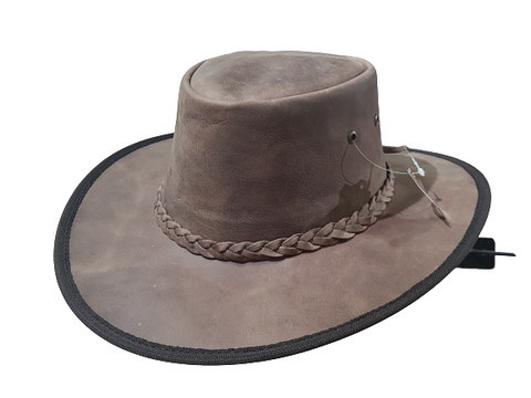 The Traveler - Split Water Buffalo Hide - RMOHATS