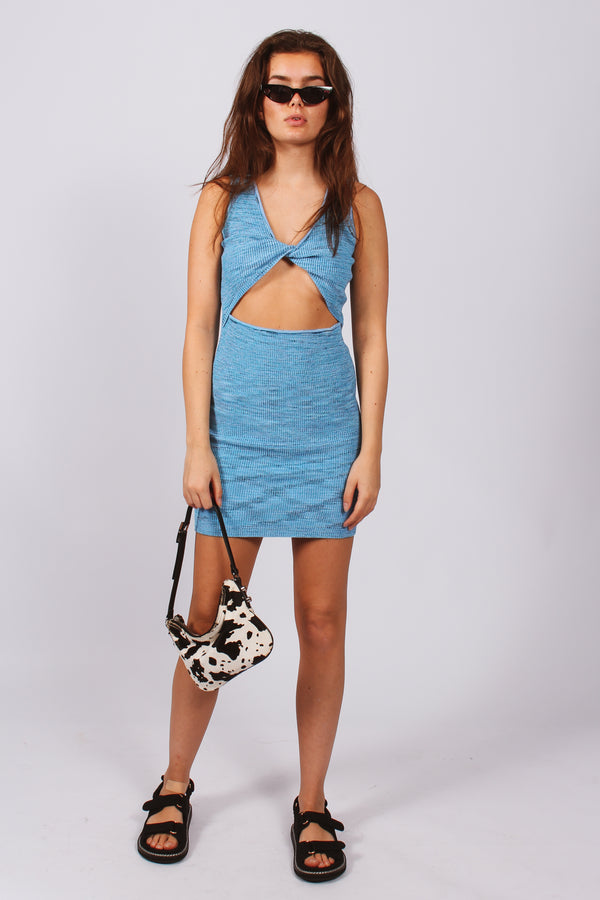 Afterglow Dress- Blue