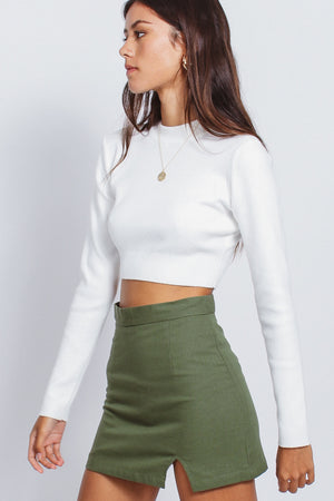 BILLIE SKIRT - GREEN