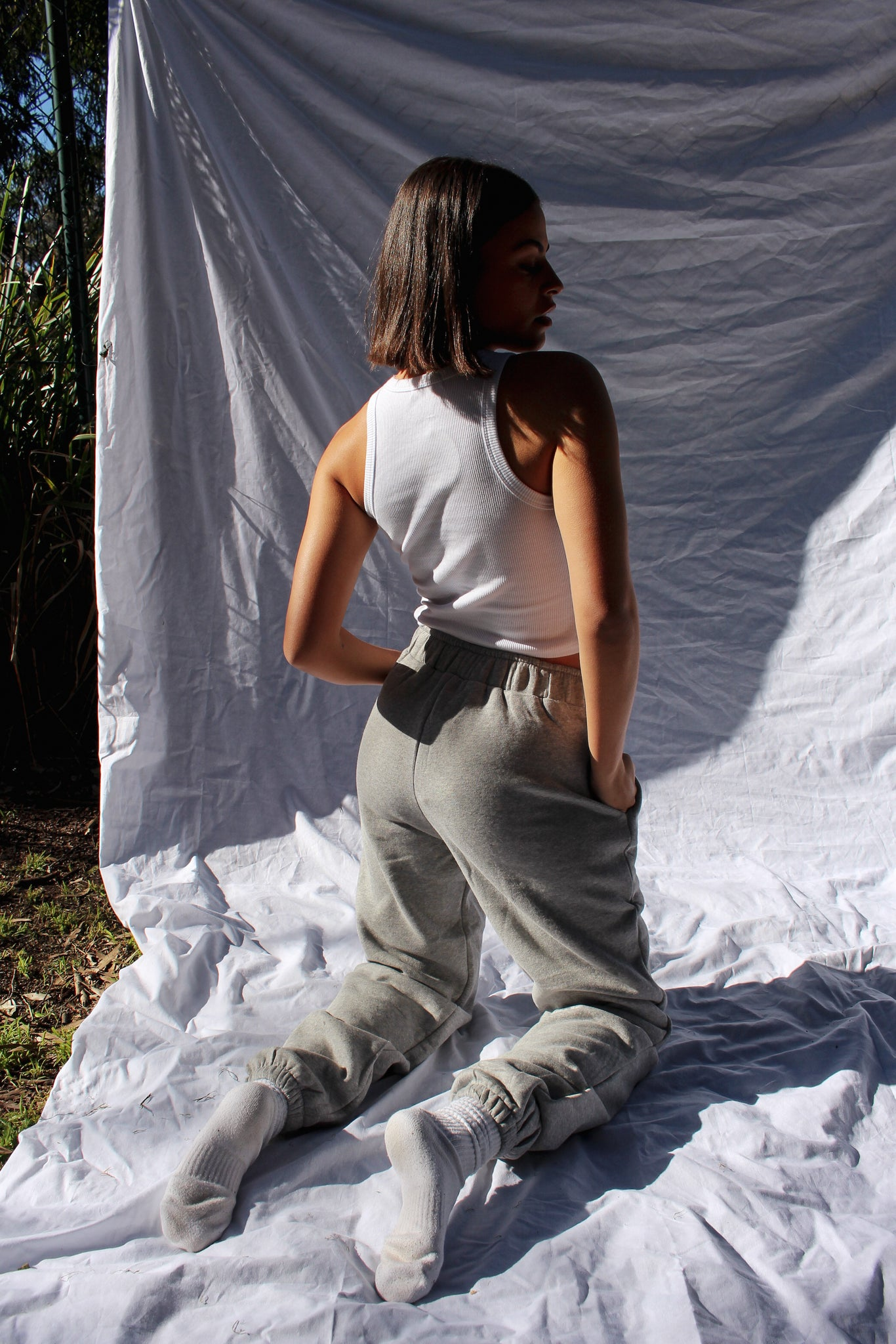 Staple track pants