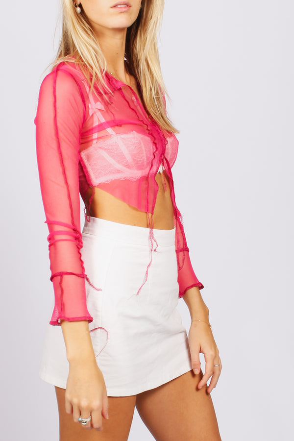 Netty top- pink