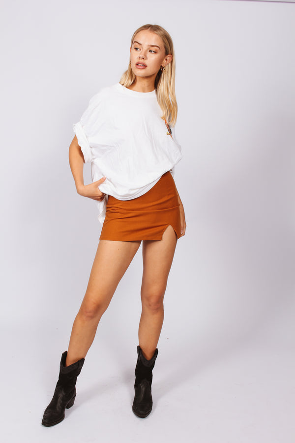 Billie Skirt- Dark brown