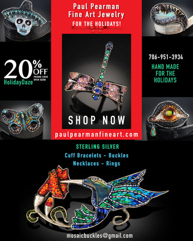 ​Wrap Up - Paul Pearman Fine Art Jewelry For The Holidays! #paulpearman paulpearmanfineart.com