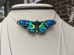 Blue For You Butterfly Pendant