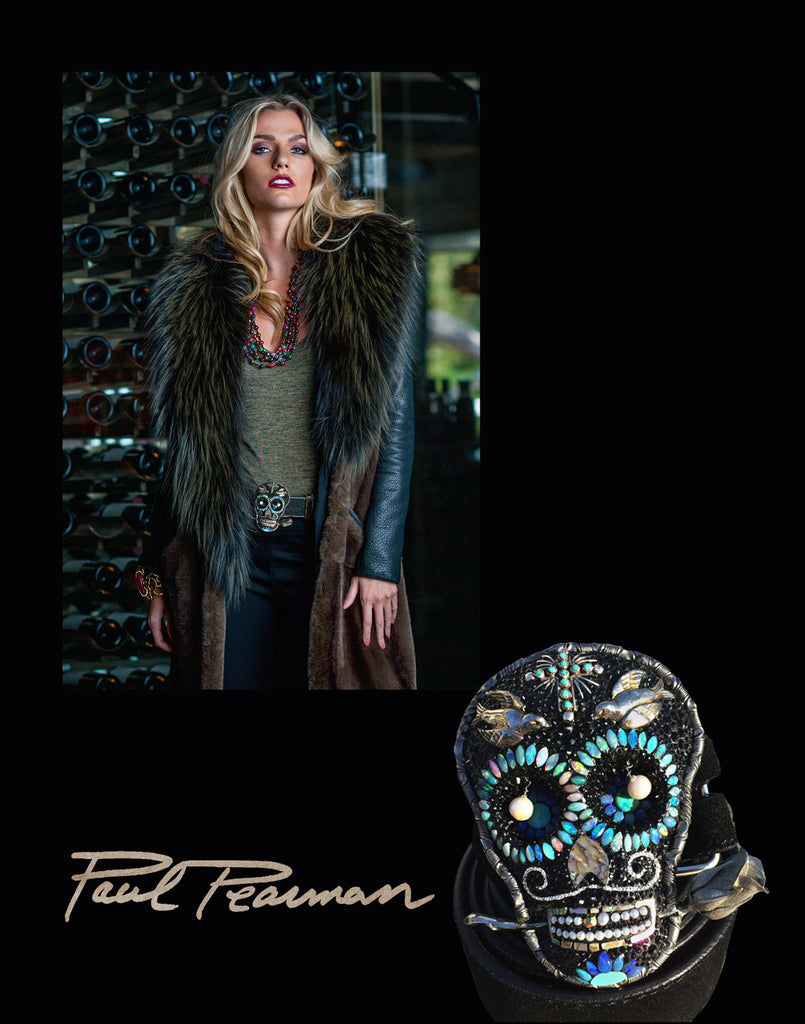 Free Bird Sugar Skull (Featured in CowGirl Magazine) - JW Cooper Miami - NY