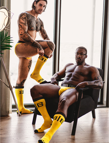 Big Pouch Brief & Socks Bundle - Yellow