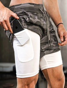 Gym Running Shorts with Pockets