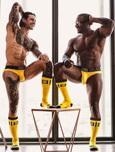 Load image into Gallery viewer, Big Pouch Brief & Socks Bundle - Yellow