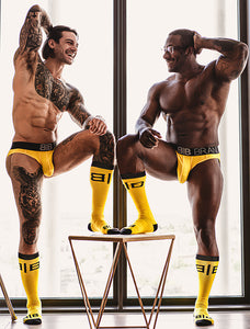 Big Pouch Brief - Yellow