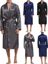 Load image into Gallery viewer, Silk Satin Long Robe