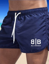 Load image into Gallery viewer, Blue Short Shorts