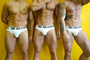 3 Pairs of White Briefs Bundle