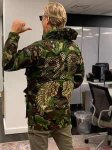 Customised Military Jacket (With Hoodie)