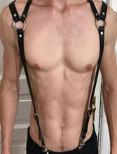 Load image into Gallery viewer, Retro Back Sexy Fetish Harness