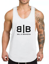 Load image into Gallery viewer, Black Gym Tank Top