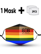 Load image into Gallery viewer, Inclusive Rainbow Masks