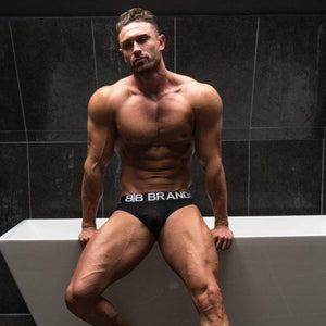 3 Pairs of Black Briefs Bundle
