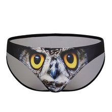 Load image into Gallery viewer, Owl Printed Briefs