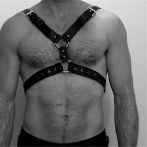 Gothic Body Cage Harness